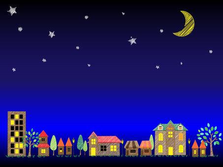 Cityscape (night)