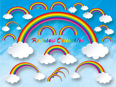 Nature Weather Rainbow Collection
