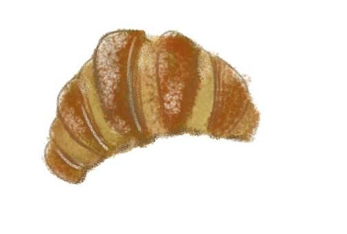 羊角麵包早餐麵包