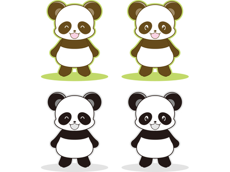 Panda illustration _ 05
