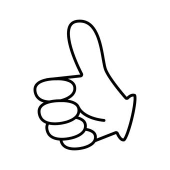 Hand sign 09