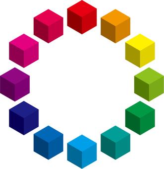 Color chart 1 b