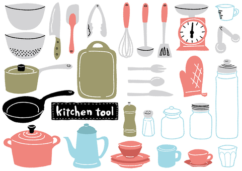 Kitchen tools _ solid