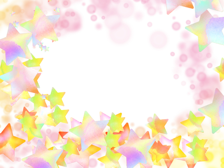 Stars falling frame
