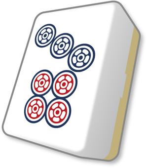 Mahjong Tile Cheap pin
