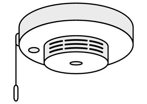 Fire alarm - thermal type