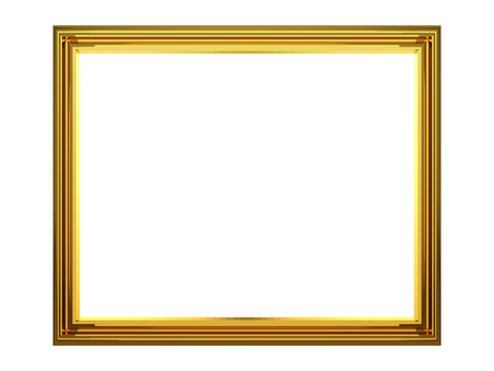 Picture frame_ gold