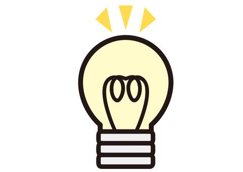 Light bulb Pikari