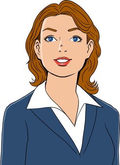 미국 만화 터치의 여성 6