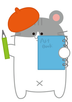 Painter hamster