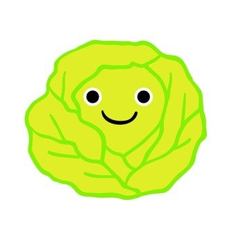Smile cabbage