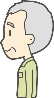 Grandfather polo shirt green-388-bust