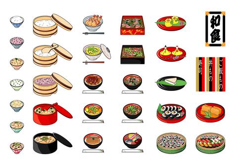 Japanese food rice dish