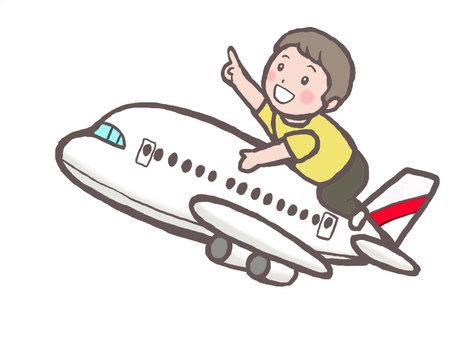 비행기와 꼬맹이