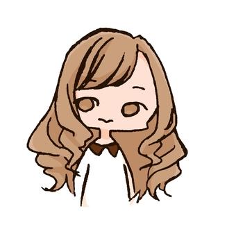 곱슬 머리
