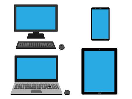Computer tablet smartphone