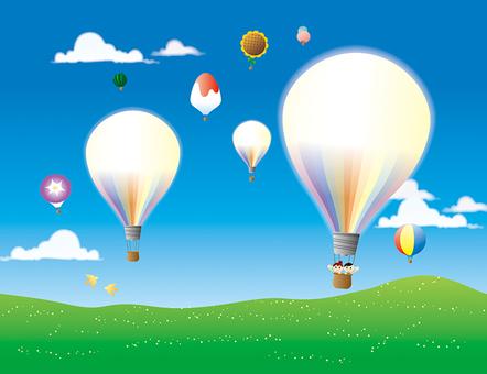 On the balloon