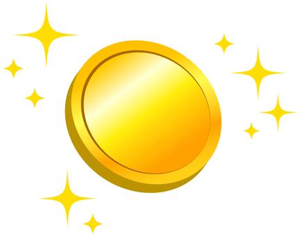 光照亮的硬幣.jpg