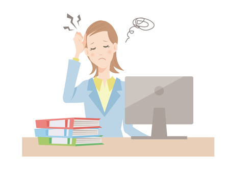 Women working in the office_Workplace stress