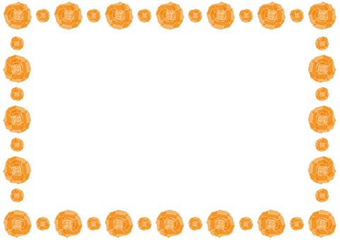 Frame - Rose -, Orange
