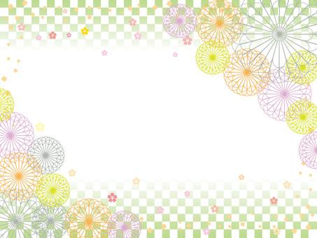 日本紙_花卉圖案5