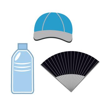 Summer heat measures item set