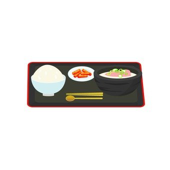 Korean cuisine set meal 2
