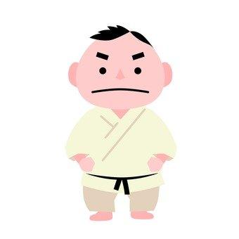 Men in judo