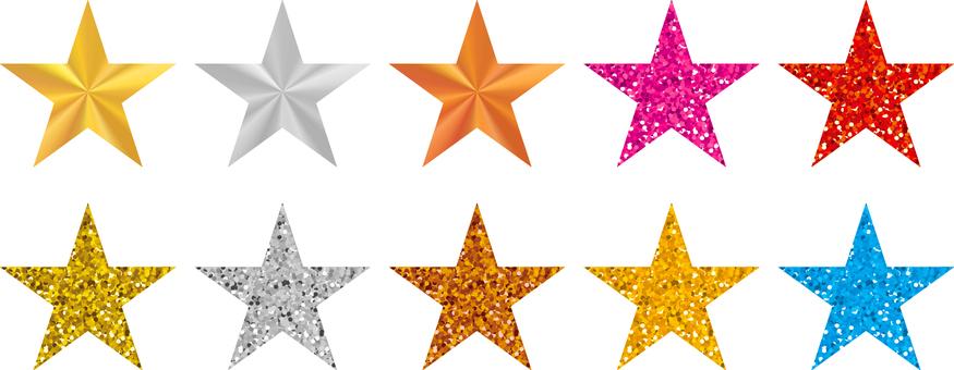 Star _ glitter _ set