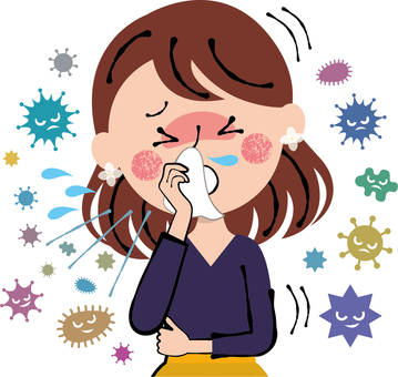 Fatal cough fever cold flu female