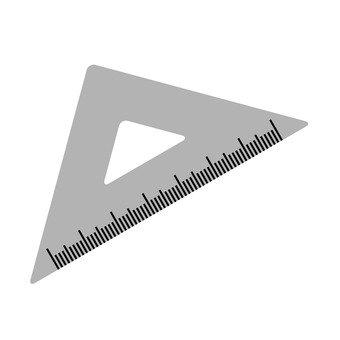삼각자 (직각 이등변 삼각형)
