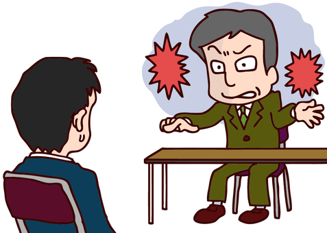 Illustration of compression interview