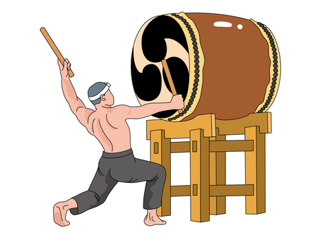 And Taiko drum (Taiko drum) 1