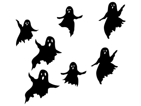 Ghost various _ Silhouette material