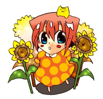■ Akari and Sunflower ■