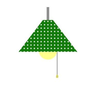 Green lighting cover