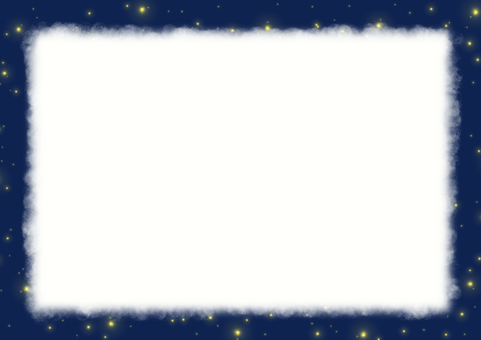 Starry sky letter