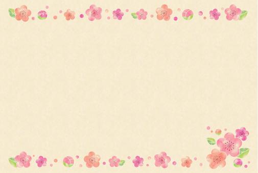 梅カード1(クラフト)