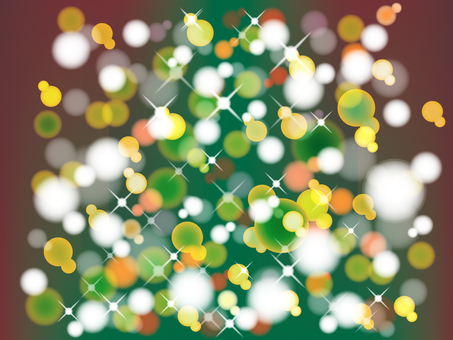 Christmas tree neon