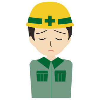 Man of construction apologize