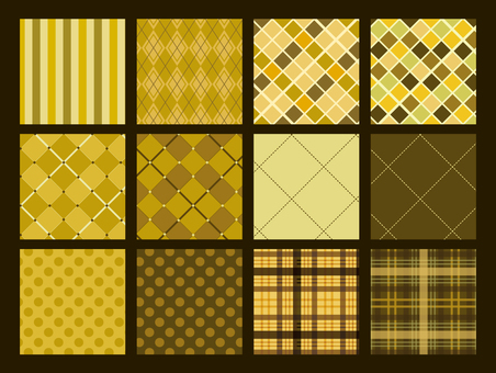 Japanese pattern / gold pattern / Japanese style pattern