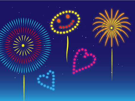 Fireworks (night sky)