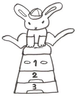 Rabbit Jump Box Gymnastics