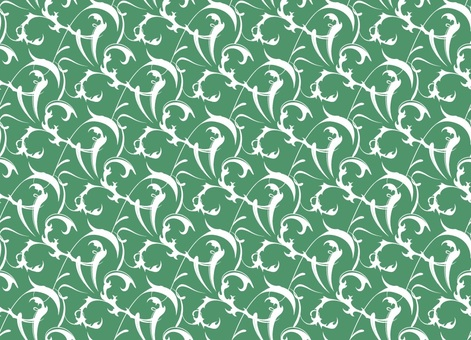 Western style wallpaper _ 2 _ green