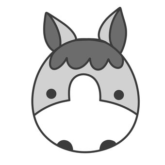 Horse Icon _ Eyebrow