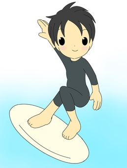 Surfer sea