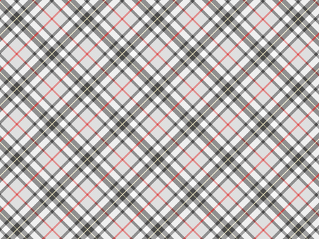 Bright gray and red check pattern