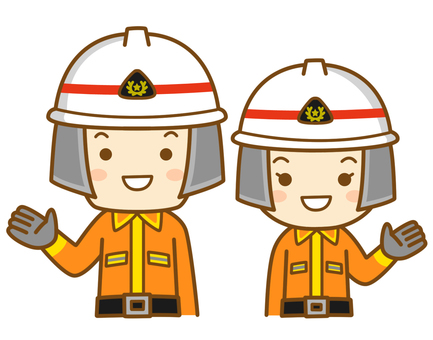 Guide firefighters