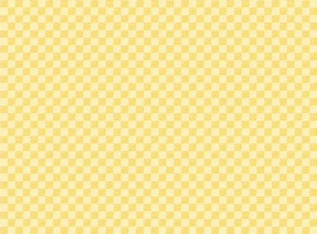 和柄背景-金色の市松模様