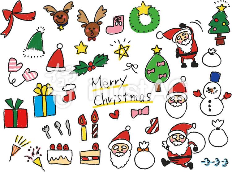 クリスマスイラスト 手書き かわいい Paintschainer